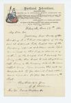 1861-06-16  C.C. Woodman writes to Governor Washburn regarding Captain Brady's behavior