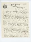 1861-06-18  Affidavit against Captain Josiah R. Brady