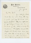 1861-06-19  Colonel Dunnell to Adjutant General Hodsdon regarding drill masters