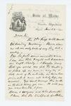 1861-06-21  Governor Washburn asks Colonel Harding what the regiment still needs