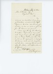 1861-07-01  Lincoln Radford says his accounts as Assistant Commisary of Subsistence are ready for audit