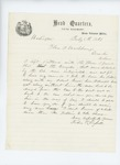 1861-07-05   John K. Russell reports that on account of teamsters' drunkenness he had to hire an assistant