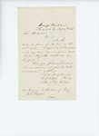 1861-07-30  Lieutenant W. H. Watson requests new commissions for himself and officers