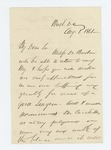 1861-08-01  Colonel Dunnell requests appointment of a surgeon