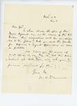 1861-08-08  Colonel Dunnell asks General Hodsdon procedure to fill vacancies