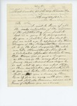 1861-08-22  S.C. Hamilton solicits the appointment of Dr. Warren as surgeon