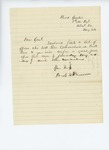 1861-08-24  Colonel Dunnell submits a list of officers who lost their commissions at Bull Run