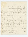 1861-08-28  Lieutenant Colonel Edwin Ilsley returns results of elections of officers