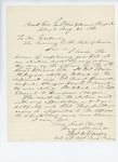 1861-08-31  Colonel Thomas A. Davies communicates the result of regimental election
