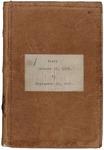 Richard Cutts Shannon, Civil War diary, Volume 1 (Jan-Sept 1862) by Richard Cutts Shannon