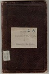 Richard Cutts Shannon, Civil War diary, Volume 2a (September 1863-January 1865)
