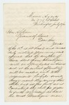 1863-07-21 Christopher C. Hayes writes to Governor Coburn regarding needs of the wounded at Gettysburg by Christopher C. Hayes