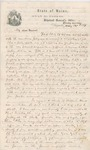 Letter from John Hodsdon to Davis Tillson, May 26, 1861 by John Hodsdon and Davis Tillson