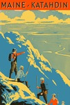 Maine - Katahdin Image Graphic by Maine Development Commission