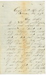 Letter to Mother, July 12, 1865 by Dexter True