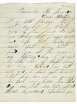 Letter to Mother, June 30, 1865 by Dexter True
