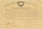 Dexter True, Certificate of Appointment to Corporal, July 1865