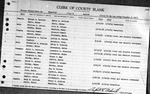 Maine Divorce Returns, Volume 26D, 1943 (Oxford to York Counties)