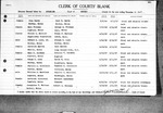 Maine Divorce Returns, Volume 29B, 1947 (Oxford to York Counties)
