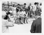 Rockland Seafood Festival, 1958 - Sea Queen Contestants by Maine Department of Sea and Shore Fisheries