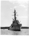Rockland Seafood Festival, 1958 - Naval Ship by Maine Department of Sea and Shore Fisheries