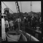 Rockland Seafood Festival, 1958 - Boarding Lobster Boat by Maine Department of Sea and Shore Fisheries