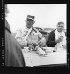 Rockland Seafood Festival, 1958 -  Eating Lobster Unknown