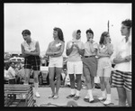 Rockland Seafood Festival, 1958 - Sea Queen Court by Maine Department of Sea and Shore Fisheries