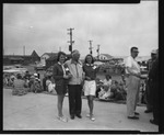 Rockland Seafood Festival, 1958 - Reigning Sea Queen by Maine Department of Sea and Shore Fisheries