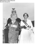 Exhibits and Food Shows - Sea Goddess with King by Maine Department of Sea and Shore Fisheries