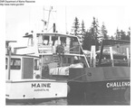 "Department Vessels ""Maine"" and ""Challenge"" by Department of Marine Resources"