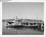 Guardian and Other Boats Tied to Dock at Mckown Point, Boothbay Harbor, Maine by Department of Marine Resources