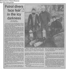 Maine Marine Patrol Dive Team Members
