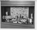 Liquor Store Display, Maine, November 1966 by Maine Department of Sea and Shore Fisheries
