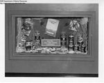 Liquor Store Display, Biddeford, Maine by Maine Department of Sea and Shore Fisheries