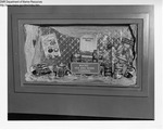 Liquor Store Display, Lewiston, Maine by Maine Department of Sea and Shore Fisheries