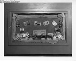 Liquor Store Display, Ellsworth, Maine by Maine Department of Sea and Shore Fisheries