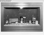 Liquor Store Display, Augusta, Maine, Winter 1968-1969 by Maine Department of Sea and Shore Fisheries