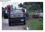 Preparing to Load Shad at the Narraguagus River, June 1987
