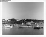 Boats in a Harbor by Department of Sea and Shores Fisheries