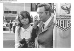 "Barbara Harris and Jack Lemmon from Set of ""The War Between Men and Women"" 1971? by Maine Department of Marine Resouces"