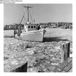 "Dragger ""Candy B II"" Boothbay Harbor, Maine 1968 by Maine Department of Marine Resouces"
