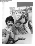 Shrimp Promotion - Woman Eating Fried Shrimp by Maine Department of Marine Resouces