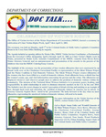 DOCTalk, March/April 2003 by Maine Department of Corrections