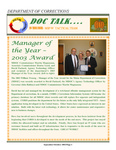 DOCTalk, September/October 2003 by Maine Department of Corrections