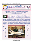 DOCTalk, May/June 2004 by Maine Department of Corrections