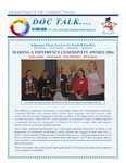 DOCTalk, November/December 2004 by Maine Department of Corrections