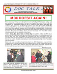 DOCTalk, November/December 2008 by Maine Department of Corrections