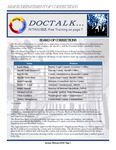 DOCTalk, January/February 2009 by Maine Department of Corrections