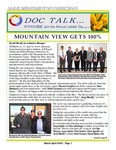DOCTalk, March/April 2009 by Maine Department of Corrections
